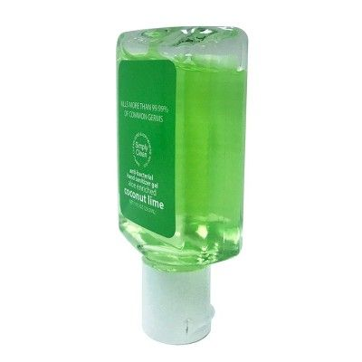 Simply Clean Holiday Hand Sanitizers Christmas Tree Coconut