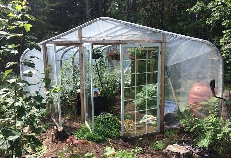 Diy Greenhouse From Carport Greenhouse Build A Greenhouse Diy Greenhouse