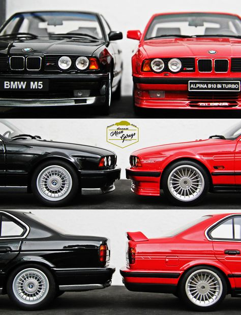 1/18 Ottomobiles Resin BMW M5 x Alpina B10 Bi Turbo E34
