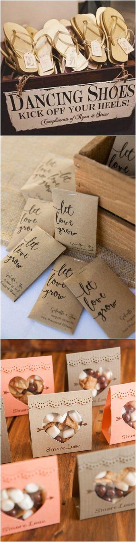 creative wedding favor ideas