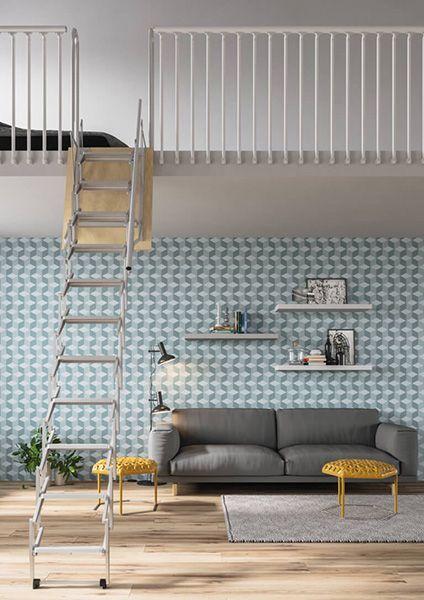 Top Escalier Escamotable Pour Mezzanine Rabattable Pour Gagner En