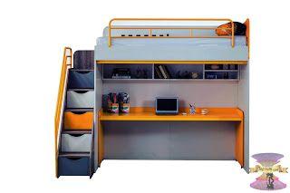 غرف نوم اطفال دورين مودرن In 2020 Loft Bed Home Decor Bed