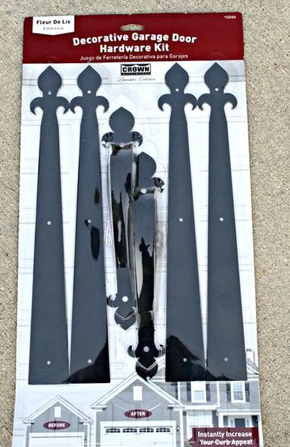 Diy Craftsman Door Hardware In 2020 Garage Door Styles Craftsman Door Garage Door Design