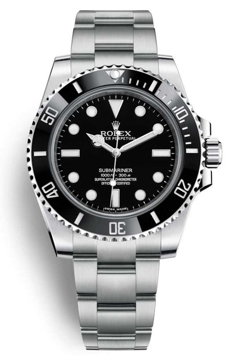 Rolex Oyster Perpetual Submariner Stainless Steel & Ceramic Men's Watch