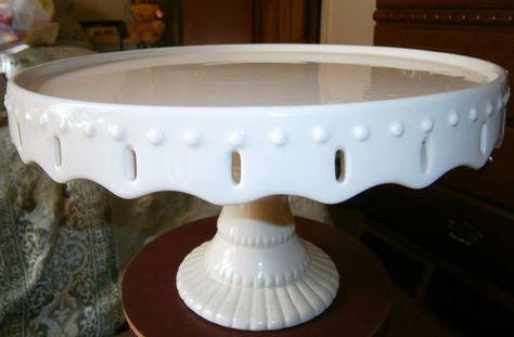 Round Pedestal Cake Plate!! | eBay