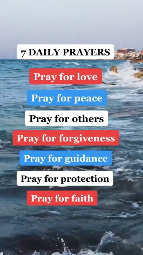 7 Daily Prayers