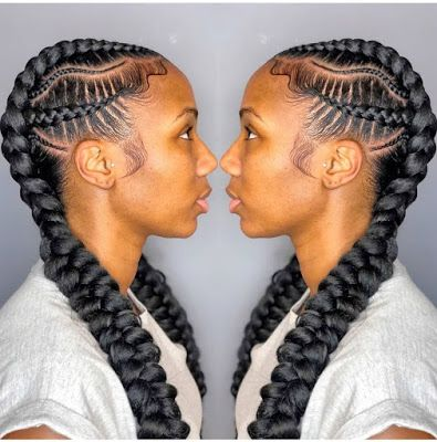 Braids Hairstyles 2020 Pictures Most Trending Styles For Ladies In 2020 Feed In Braids Hairstyles Feed In Braid Hair Styles