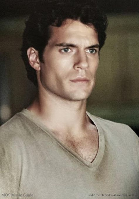 """When somebody says they dont like Henry Cavill, I give them this look the entire time I'm around them. But, then I think """"more for me"""". :)"""