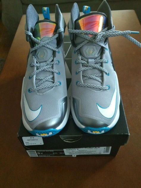 new product 1f96e 64390 Details about lebron james shoes size 5 y Xlll