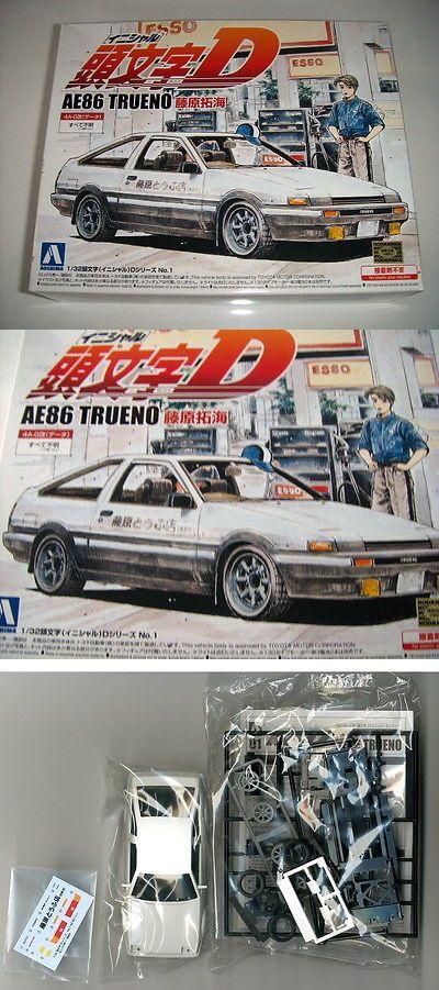 1 24 Scale 145974 New Aoshima Initial D Ae86 Trueno Takumi