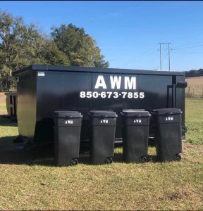 Custom Built Dumpsters Designed And Constructed For Arrow Waste Management Llc Cedar Manufacturing In 2020 Dumpsters Custom Build Trash Can