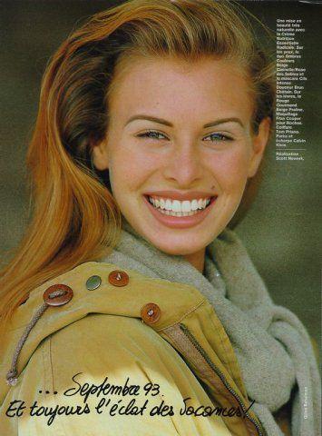 Niki Taylor,Elle France 1993 by Gilles Bensimon