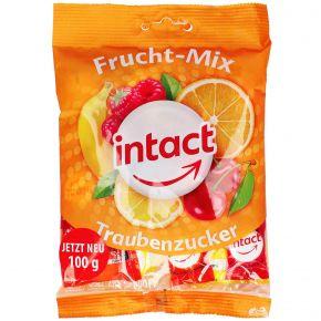 Intact Traubenzucker Frucht Mix 100g Einzeln Verpackte Traubenzucker Bonbons Mit Fruchtgeschmack 5 Fach Sortiert Gluten Und Laktos Fruchte Bonbon Verpackung