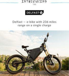 Delfast Win Startup Battle In Los Angeles Bike Bike Design Los