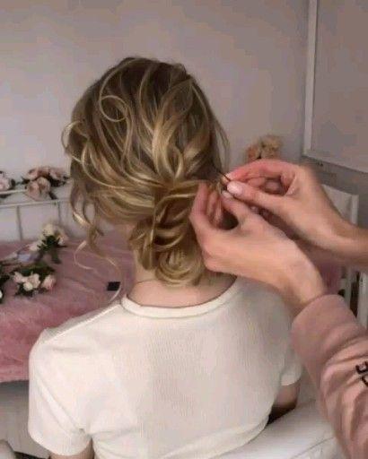 Prom or Wedding Hair Idea  #Hair #Hairstyle #hairstyles #Idea #Prom #Wedding
