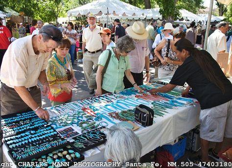 Indian Market In Santa Fe New Mexico