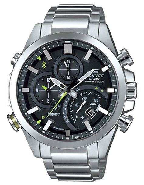 Casio Edifice EQB-501 Series Smartphone Link Mens Watch - Stainless - – Princeton Watches