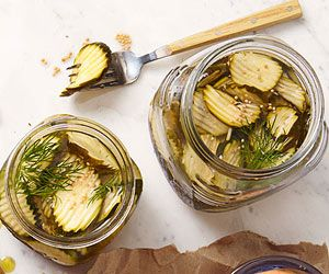 Zucchini Pickles & other summertime veggie recipes