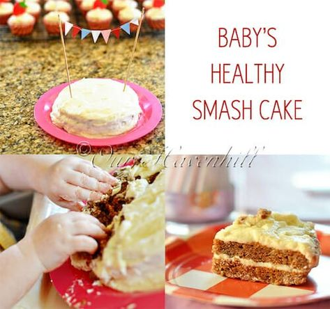 Amazing Mascarpone Smash Cake Great For Baby Led Weaning Recipe Funny Birthday Cards Online Overcheapnameinfo