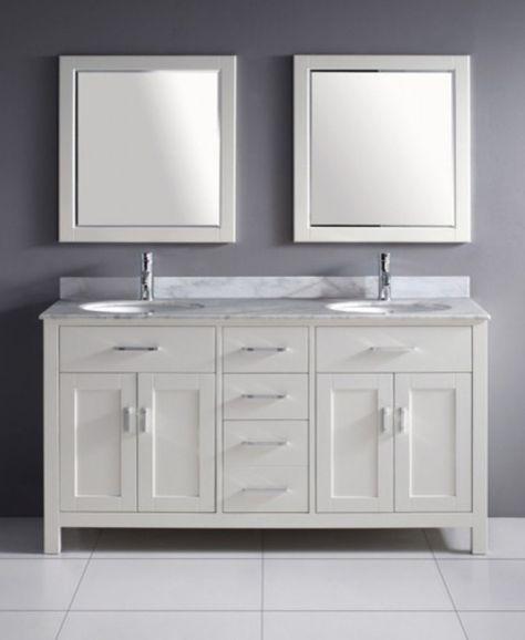40 Stunning Bathroom Vanities Costco For Nice Bathroom Ideas Bathroom Design White Vanity Bathroom Bathroom Vanity Units White Double Vanity