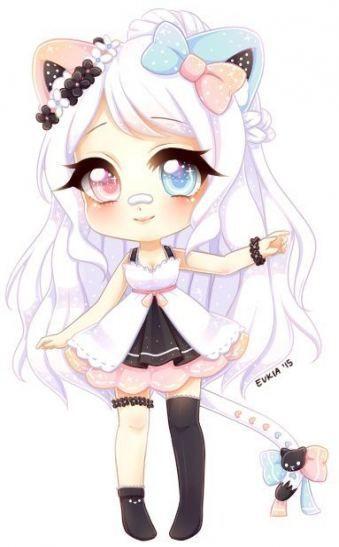 23 Best Ideas Drawing Girl Eyes Kawaii Cute Anime Chibi Anime Neko Kawaii Chibi