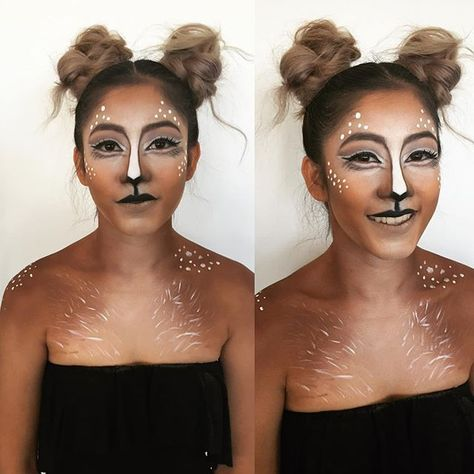 deer makeup halloween costume ideas you'll want to fawn