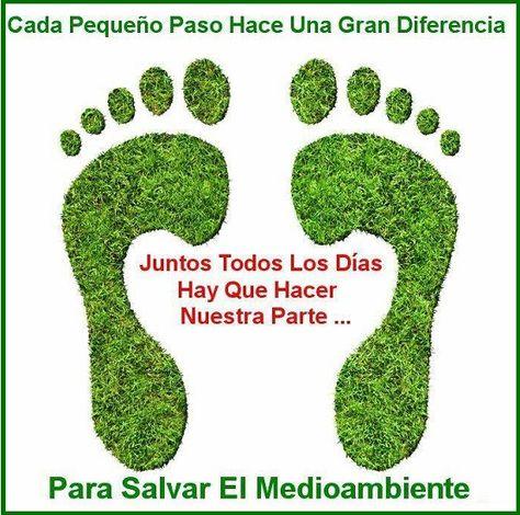 Deja Tu Huella Verde Medioambiente Huellaverde Green Vidaverde Verde E Dia Mundial Del Medio Ambiente Afiches Del Medio Ambiente Carteles Medio Ambiente