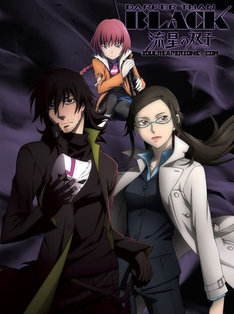Darker Than Black Ryuusei No Gemini Bluray Bd Soulreaperzone Free Mini Mkv Anime Direct Downloads Anime Dark Japanese Animation