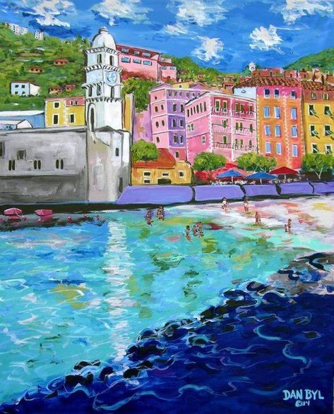 8 x 10 Inch Italy Print on archival photo paper from Dan Byl Original Fine Art