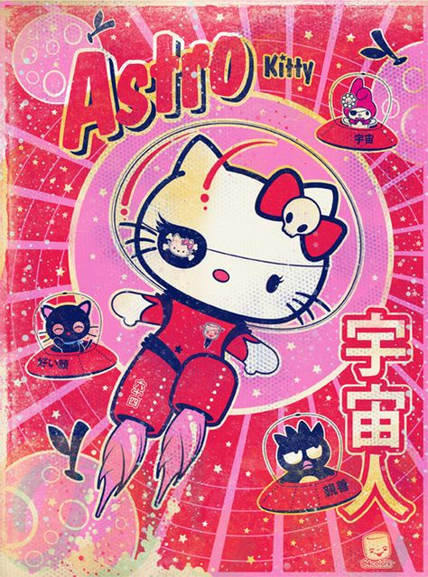 Sanrio Hello Kitty LA show print and painting Bedroom Wall Collage, Photo Wall Collage, Picture Wall, Collage Art, Foto Poster, Poster Wall, Poster Prints, Arte Indie, Indie Art
