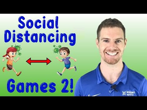 Social Distancing Games - YouTube Physical Education Lesson Plans, Physical Activities For Kids, Elementary Physical Education, Elementary Pe, Pe Activities, Group Games For Kids, Health And Physical Education, Recess Games, Gym Games