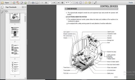 Hyundai R500lc 7 Crawler Excavator Operating Manual Download In 2020 Repair Manuals Manual Language