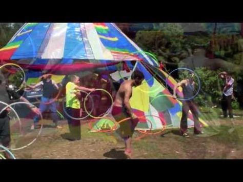 Hot Hooping Hunks - Epic Doubles Man Hoop Flow @ R2R2013 - some really cool twins stuff going on.
