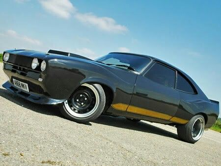 Chop Shop Ford Capri Muscle Car Slammed  Nice Cars  Pinterest