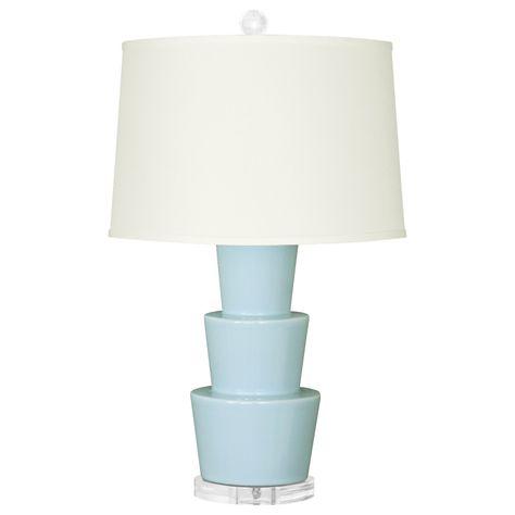 Blue Table Lamp Bungalow