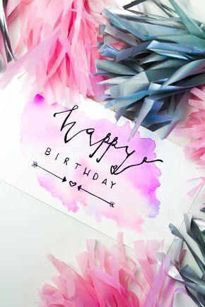 Geburtstagskarte Zum Ausmalen Kostenlose Malvorlagen Coole