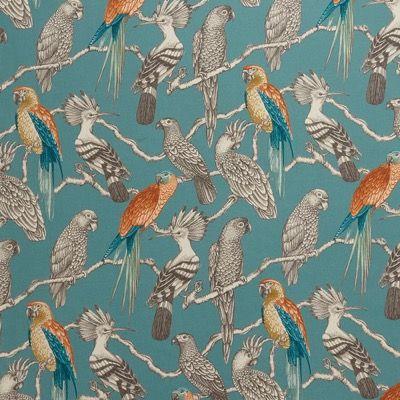 Aviary Maldives Iliv Lagoon Curtain Fabric Curtain Fabric