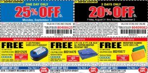 Harbor Freight 30 Off Coupon Code August 2019 Coupons Coupon Codes Printable Coupons