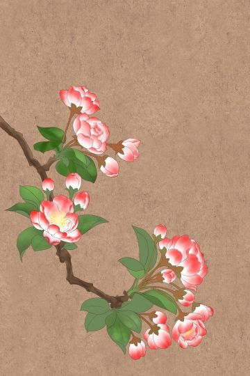 Flowers Illustration Tangs Begonia Traditional Chinese Painting Ink Meticulous Chinese Style Illustration Image On Pngtree Free Download On Pngtree Chinese Painting Flowers Chinese Painting Flower Painting