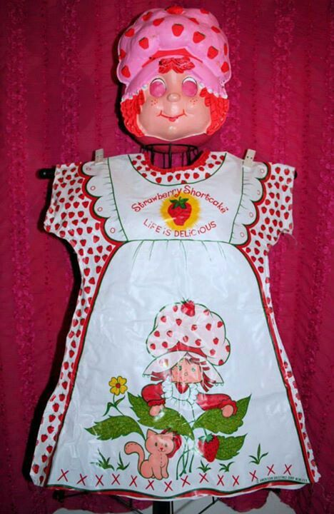 I had this Strawberry Shortcake costume in the 80's!