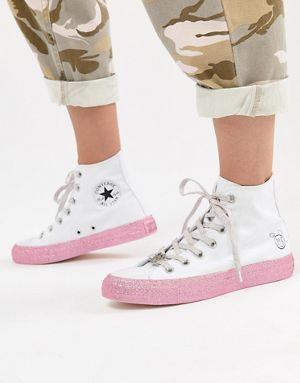 converse all star chuck taylor alte bianche