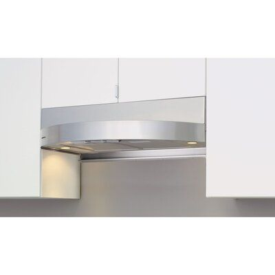 Zephyr 30 Essentials Europa Tamburo 400 Cfm Ducted Under Cabinet Range Hood In Stainless Steel With Nightlight Under Cabinet Range Hoods Range Hood Kitchen Redesign