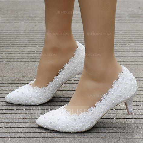 Scarpe Sposa Jjshouse.Us 33 00 Women S Leatherette Stiletto Heel Closed Toe Pumps With