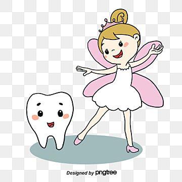 Gambar Peri Kecil Dan Gigi Fairy Clipart Kartun Gigi Png Dan Psd Untuk Muat Turun Percuma In 2021 Tooth Cartoon Tooth Fairy Dental Wallpaper