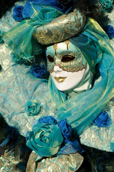 gorgeous #Mask in #Venice #Carnival