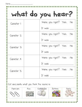 Like this worksheet, will probably try to make up my own :) Five ...