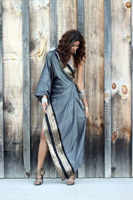 The Chic Confidential: The Modern Sari By Sakhuja Designs.