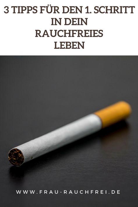 Rauchen aufhören: Nichtrauchen - aber wie? 3 Tipps für den