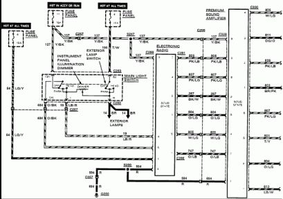 16 7012b Radio Wiring Diagram Radio Electrical Wiring Diagram Diagram