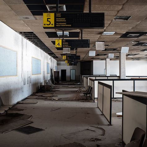 Athens Ellinikon International Airport (closed since 2001) - Olympic Airways Terminal